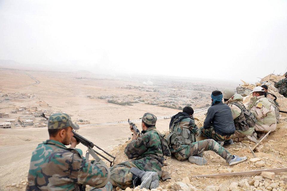 Сирийская арабская армия освободила Пальмиру от боевиков «Исламского государства»