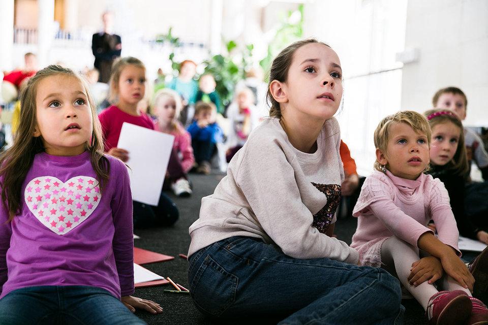 Детям интересно, если лекции о мультфильмах
