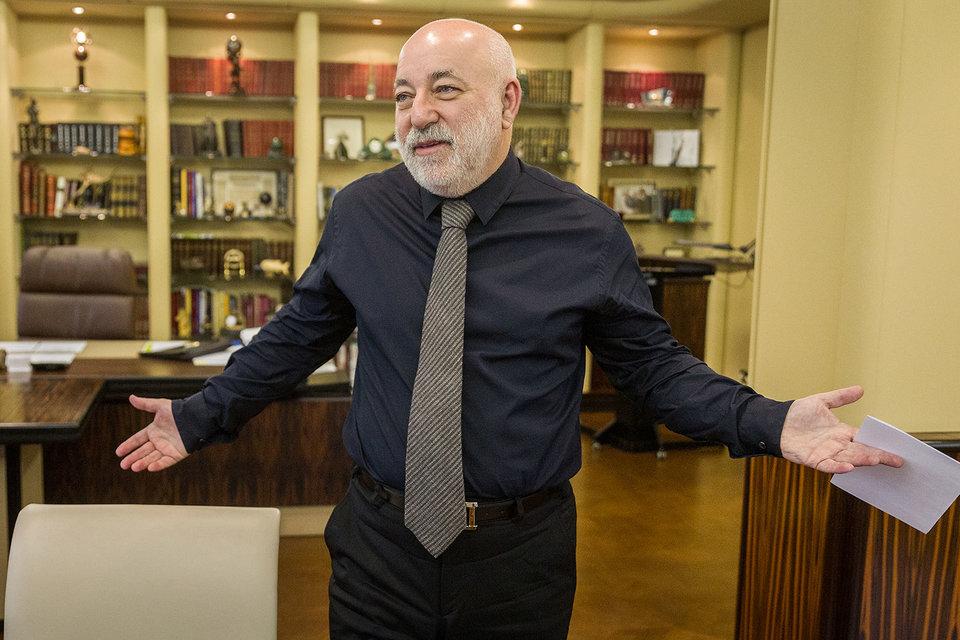 Председатель совета директоров группы «Ренова» Виктор Вексельберг