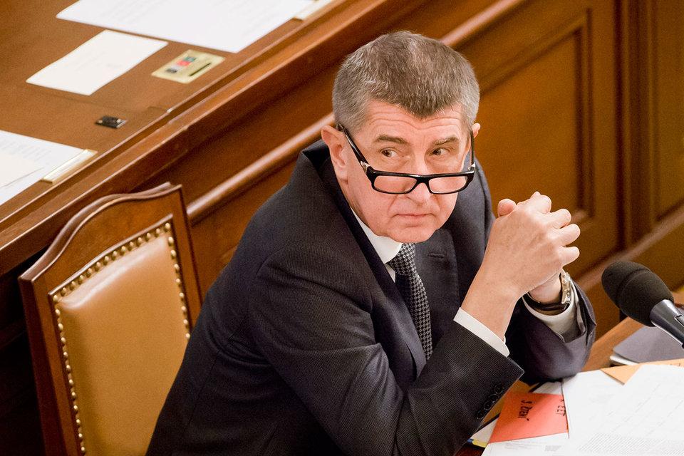 Вице-премьер и министр финансов Чехии Андрей Бабиш