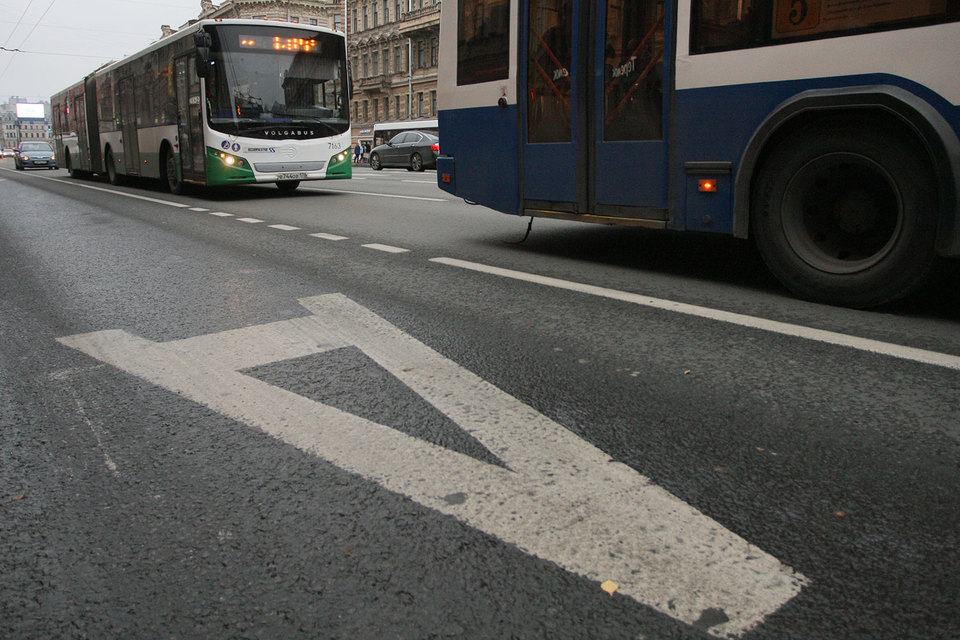 Участники ПМЭФ-2016 смогут пользоваться для проезда выделенными полосами
