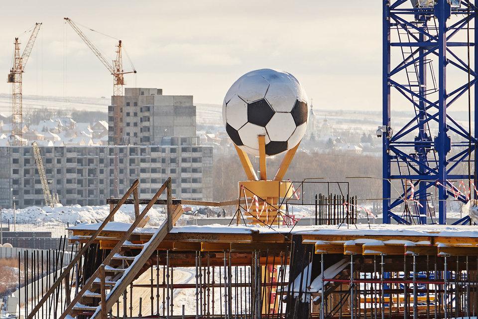 Строителям футбольных стадионов придется укладываться в смету или нести убытки