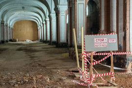 Реконструкция здания так и не началась