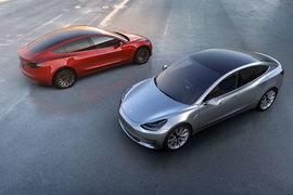 Tesla Motors представила электромобиль для массового рынка Model 3
