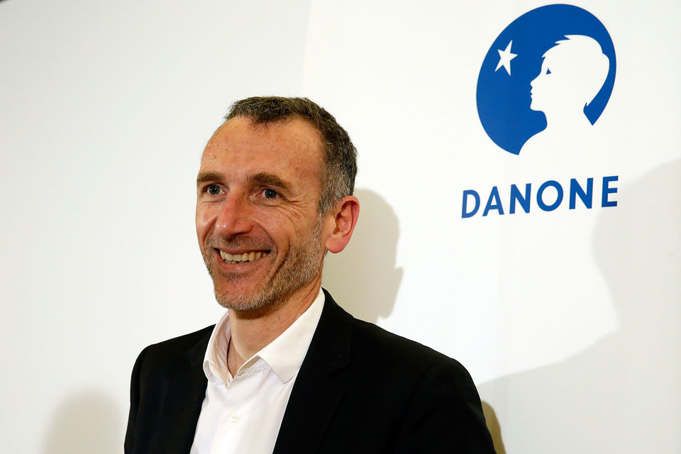 Генеральный директор Danone SA Эммануэль Фабер