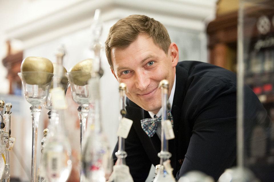 Бывший старпом Алексей Митрофанов стал сомелье
