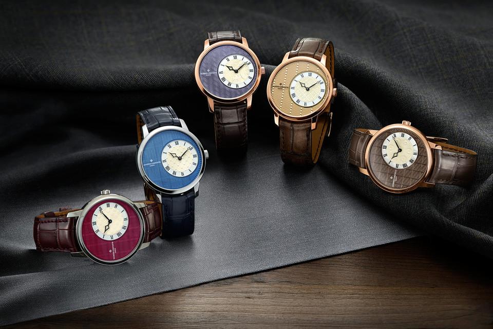 Колллекция часов The Métiers d'Art Elégance Sartoriale включает пять моделей