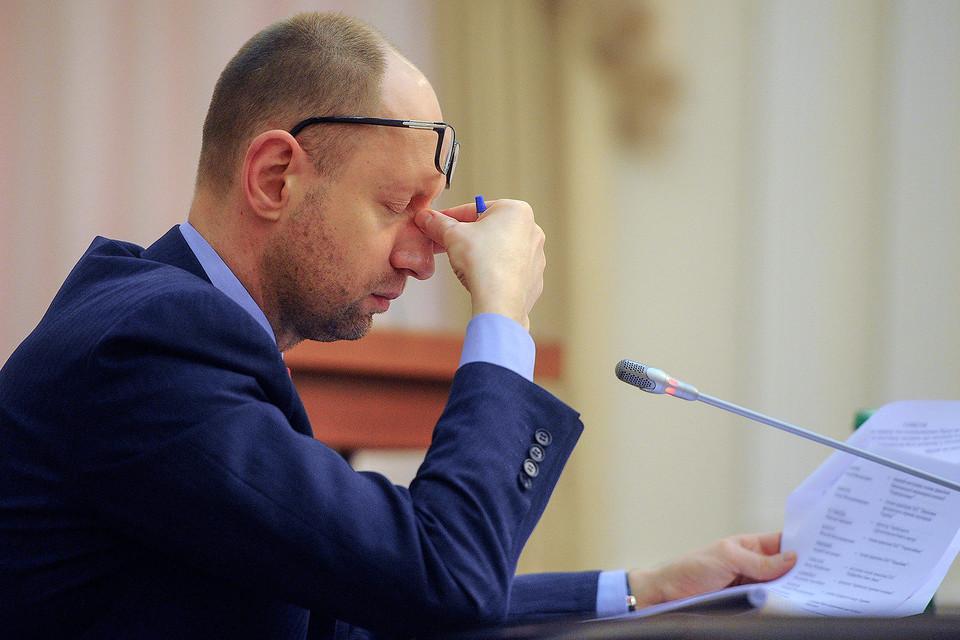 16 февраля 2016 г. работа правительства Яценюка в 2015 г. была признана неудовлетворительной