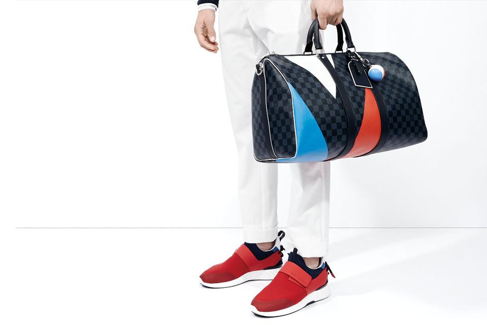 Новая коллекция создана в честь возобновления сотрудничества Louis Vuitton с регатой «Кубок Америки»