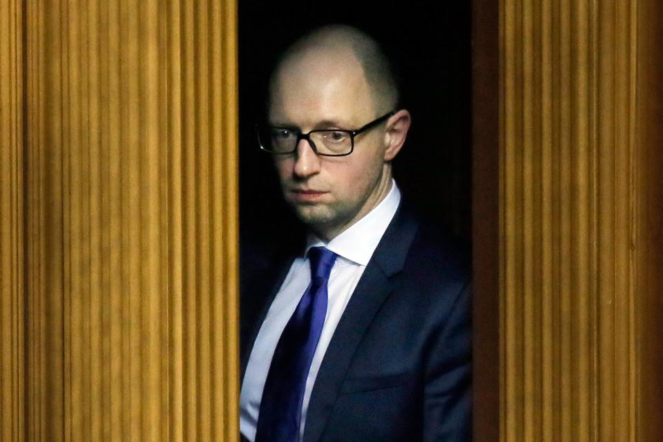Украинский премьер Арсений Яценюк подал в отставку