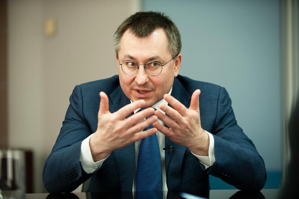Президент Санкт-Петербургской международной товарно-сырьевой биржи Алексей Рыбников
