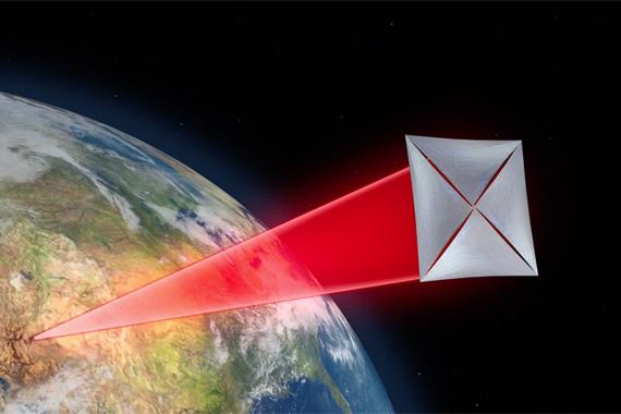 normal 1gbs Как наноробот отправится в космос при помощи лазерных лучей