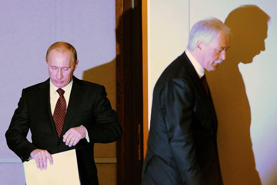 Не место в Совбезе красит Бориса Грызлова (справа), а близость к президенту