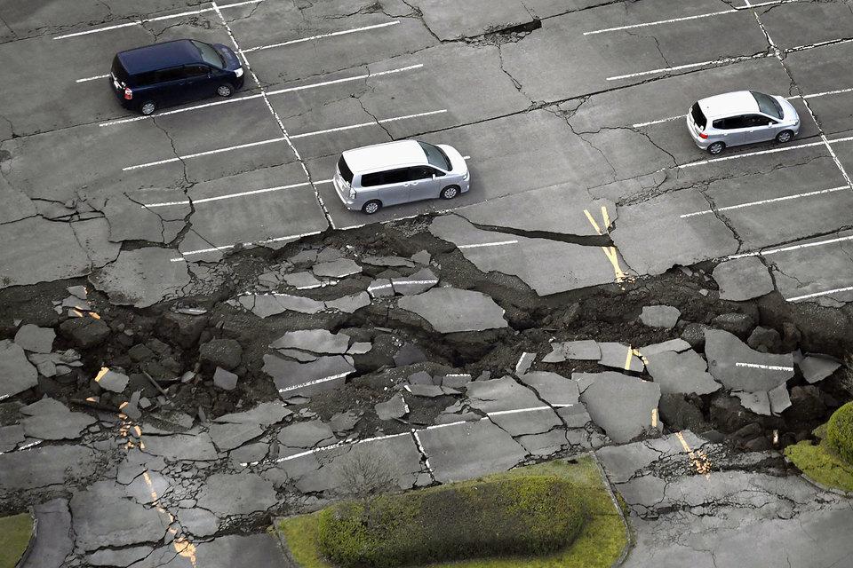 Ночью в субботу, 16 апреля, на юге Японии (остров Кюсю) произошло второе землетрясение магнитудой в 7,3