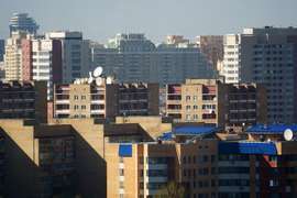 Ввод жилья в стране в I квартале сократился на 16,3%