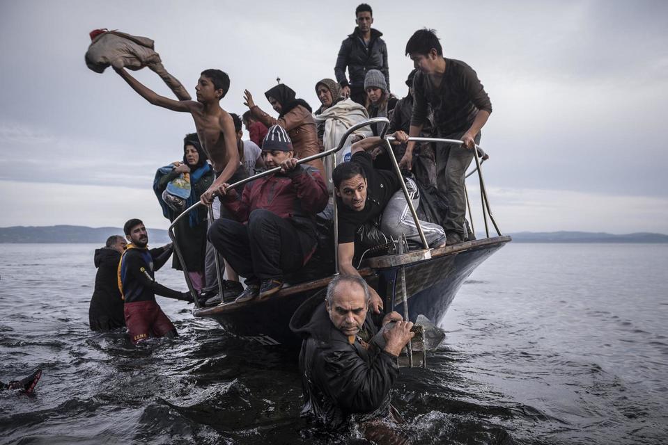 Работа Сергея Пономарева о трудностях мигрантов