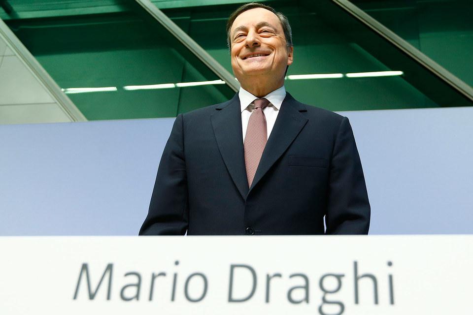 Председатель ЕЦБ Марио Драги