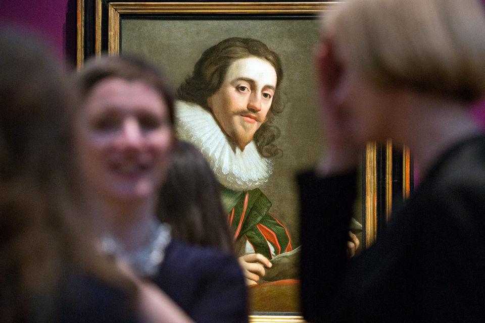 «Портрет короля КарлаI» Геррита ван Хонтхорста никогда не показывали в Москве