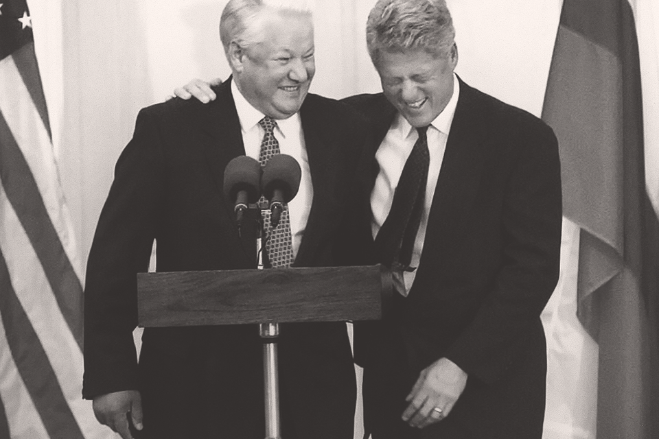 В начале 1990-х внешняя политика Бориса Ельцина отражала широкий общественный запрос на сближение с Западом