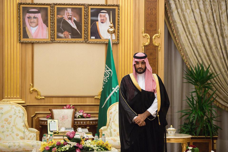 Заместитель наследного принца Саудовской Аравии Мухаммад ибн Салман аль-Сауд