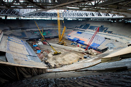 Стадион «Зенит-арена» станет «Крестовским»