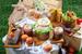 В пасхальном меню «Brasserie Мост» есть и классические куличи, и французская выпечка, и пасхальные бисквитные ягнята