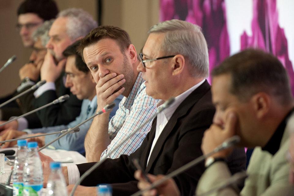 Алексей Навальный и Партия прогресса вышли из Демократической коалиции