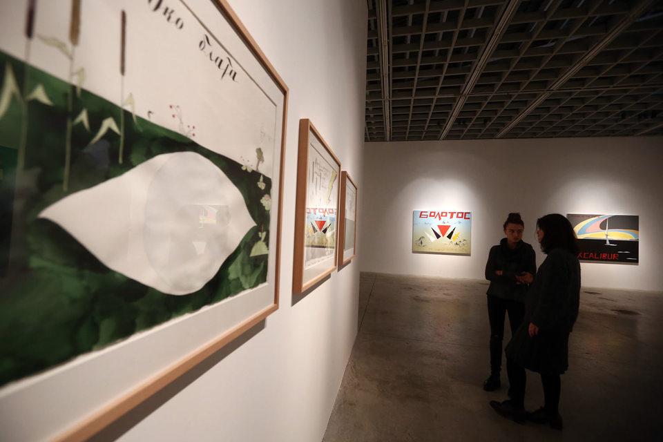 В «Риджине» опять выставка Пепперштейна