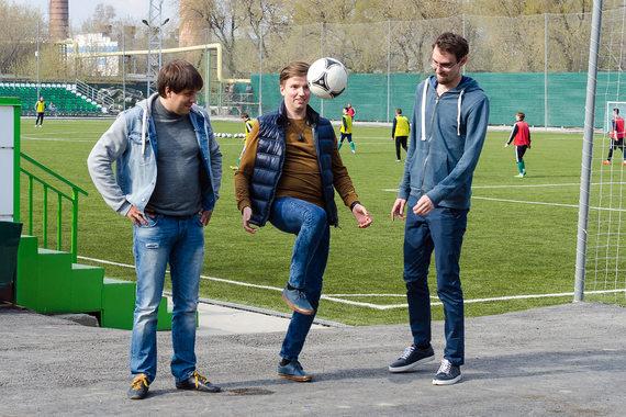 Как три болельщика из Сибири открывали детские футбольные школы ... 9578ca21f7e