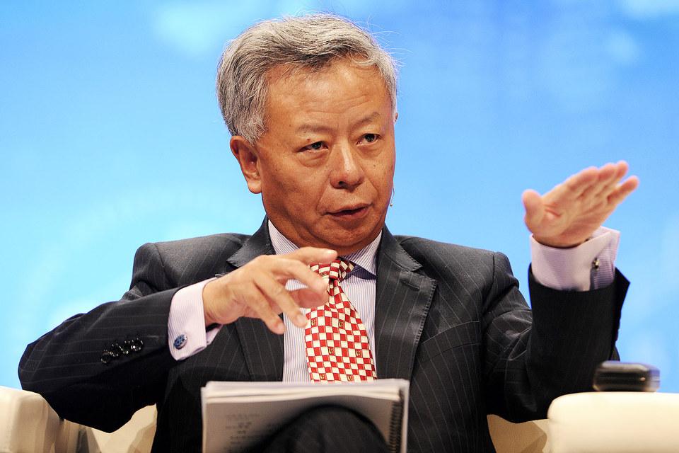 Президент Азиатского банка инфраструктурных инвестиций Цзинь Лицюнь