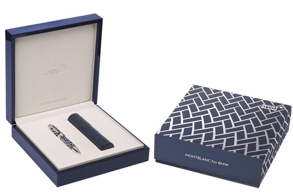 Ручка Montblanc for BMW выпущена серией в 100 экземпляров