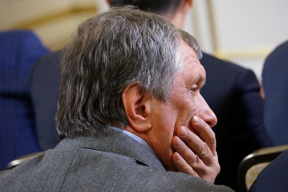 «Роснефтегазу» жалко денег для бюджета (на фото председатель совета директоров Игорь Сечин)