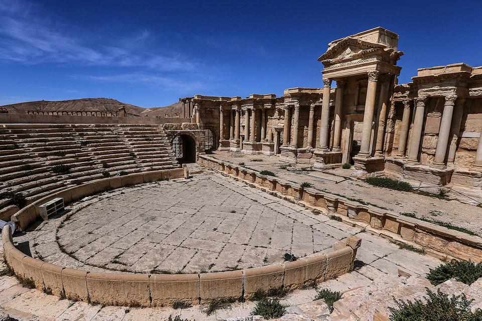 Музыканты будут играть в древнем амфитеатре