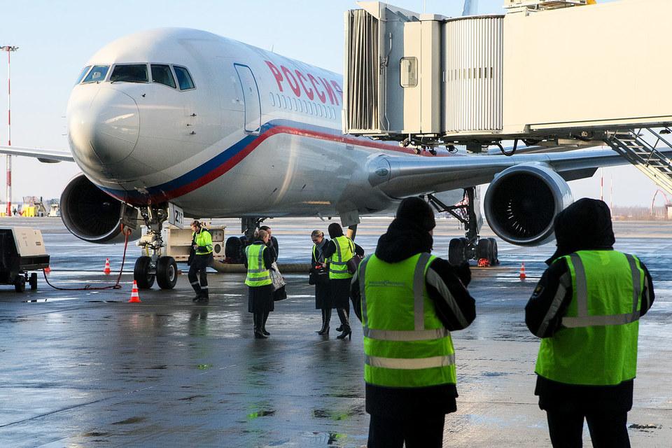 Петербургская администрация обеспокоена тем, что авиакомпания «Россия» не планирует развития в аэропорту «Пулково»