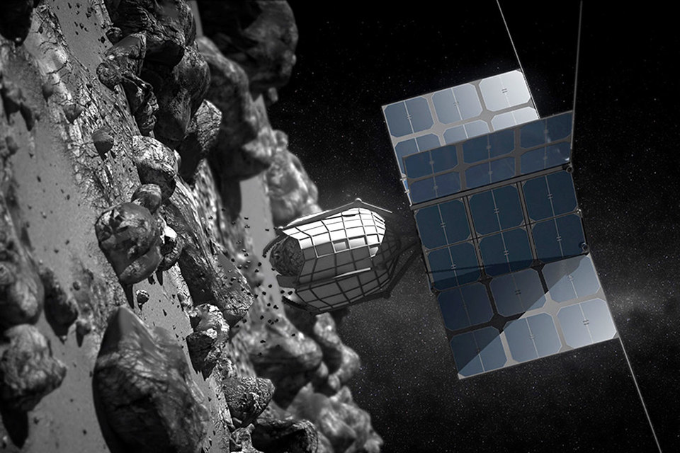 Так может выглядеть робот, который займется исследованием астероидов