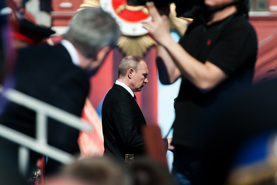 Путин напомнил, что советский народ спас мир от нацизма