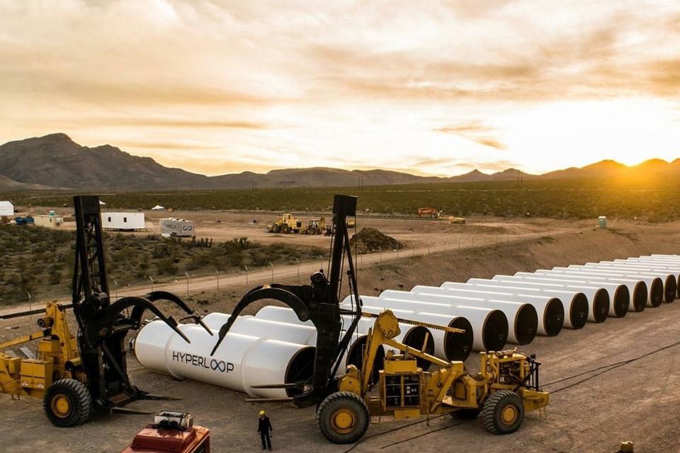 Полигон для тестирования hyperloop строится в пустыне