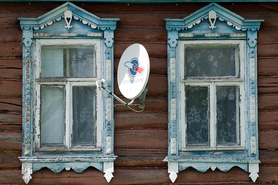Лидером по количеству абонентов платного ТВ в России является «Триколор-ТВ»