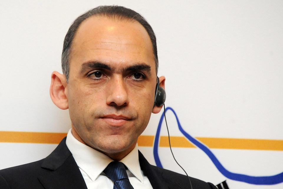 Министр финансов Кипра Харрис Георгиадес