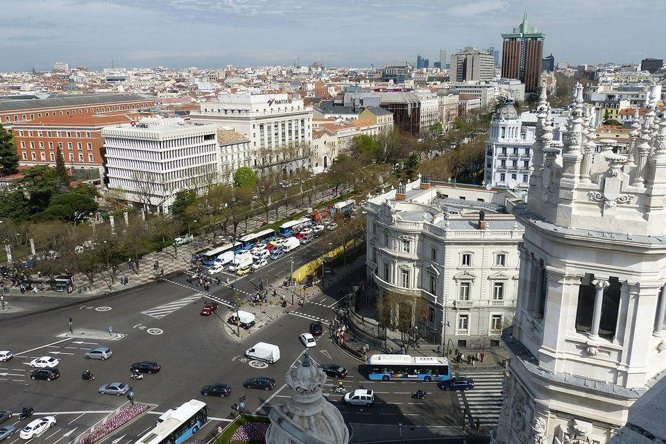 Популярные альтернативы традиционным финансовым столицам – Джексонвилл, Варшава и Мадрид (на фото)