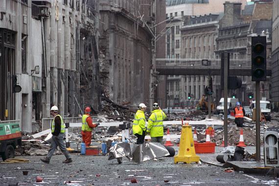 Взрыв грузовика, организованный членами ИРА в финансовой части Лондона у небоскреба NatWest в 1993 г., стоил страховщикам $1,2 млрд. Теракт привел к значительным разрушениям здания и вокруг него, один человек погиб