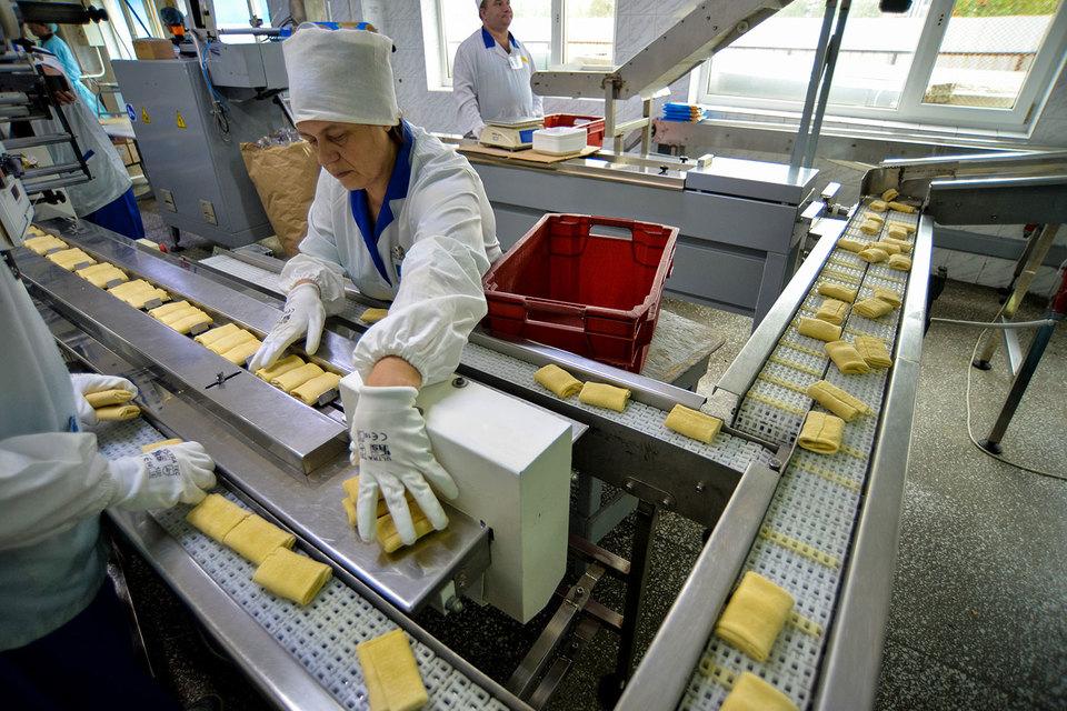 Драйвером промышленности стало пищевое производство