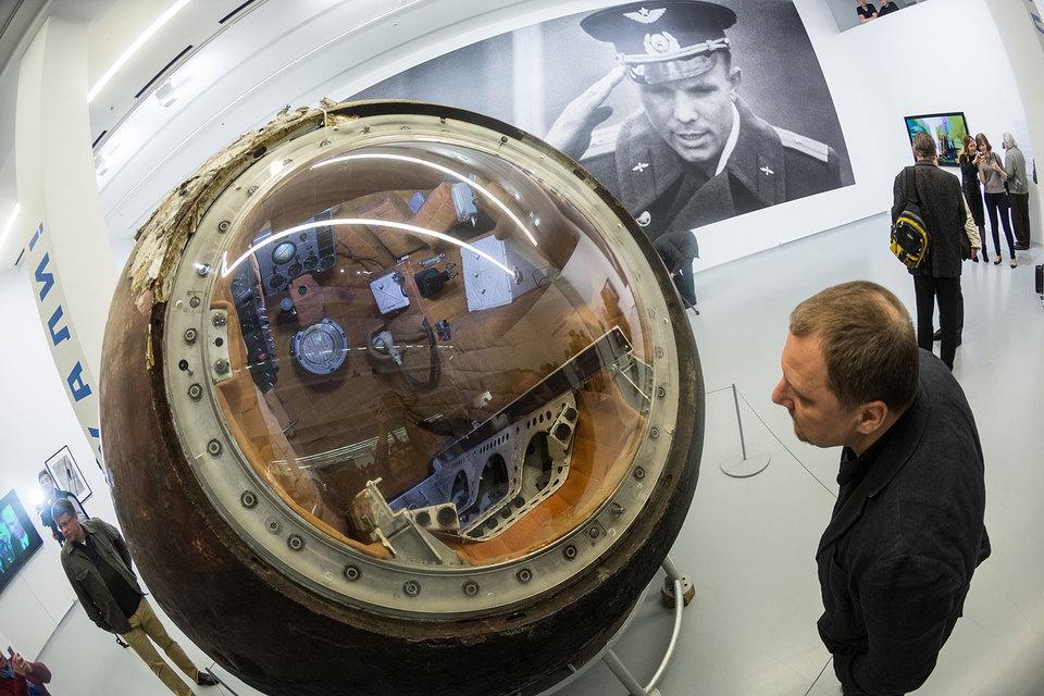 Даже не верится, что в этом устройстве из космоса на Землю спустился человек