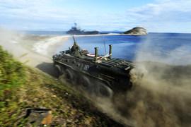 Проверка боевой готовности морской пехоты