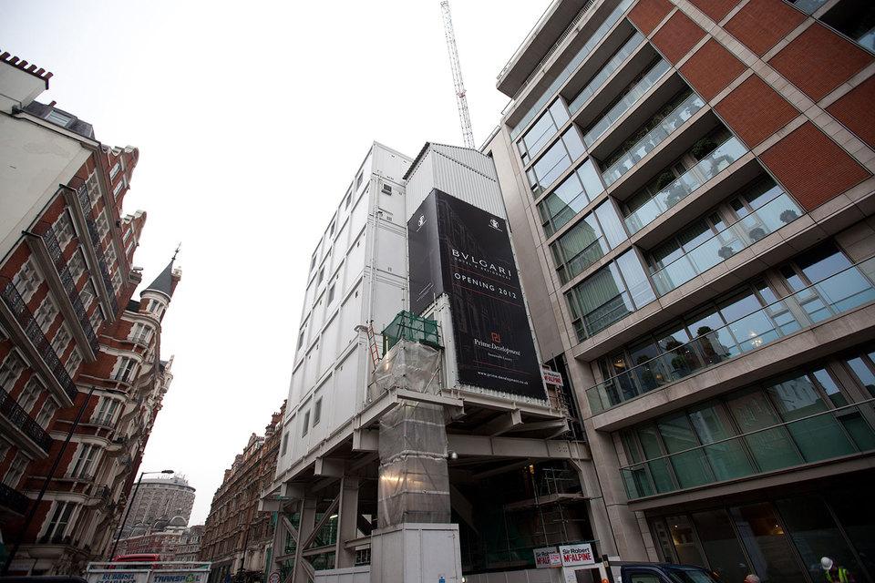 В Лондоне отель и апартаменты под брендом Bulgari открылись в 2012 г.