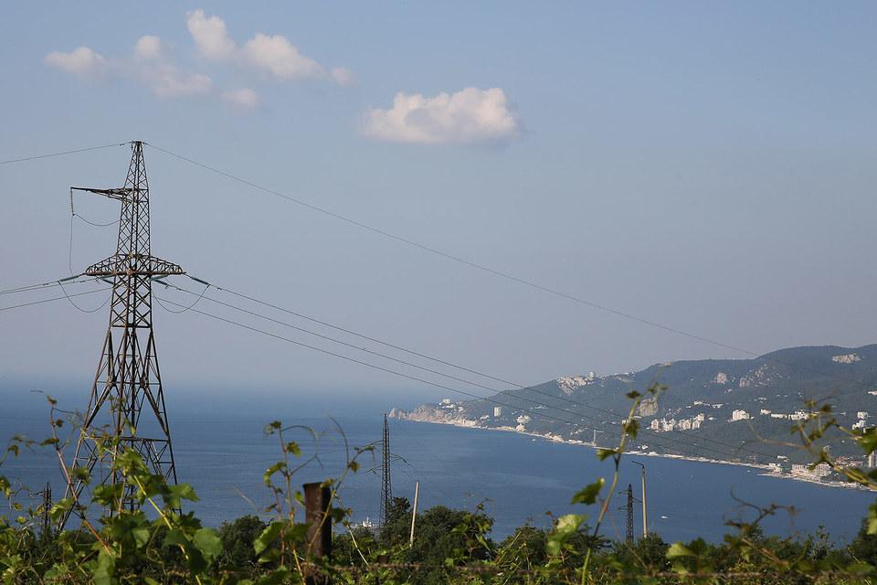 Крым остался без электричества на несколько часов