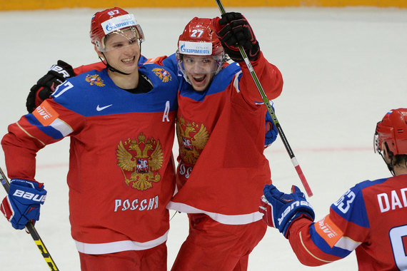 Сборная России по хоккею заняла третье место на ЧМ-2016