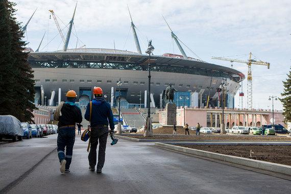 Стадион к ЧМ-2018 в Петербурге подорожает на 4,3 млрд рублей