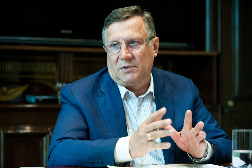 Председатель совета директоров ГК «Эталон» Вячеслав Заренков