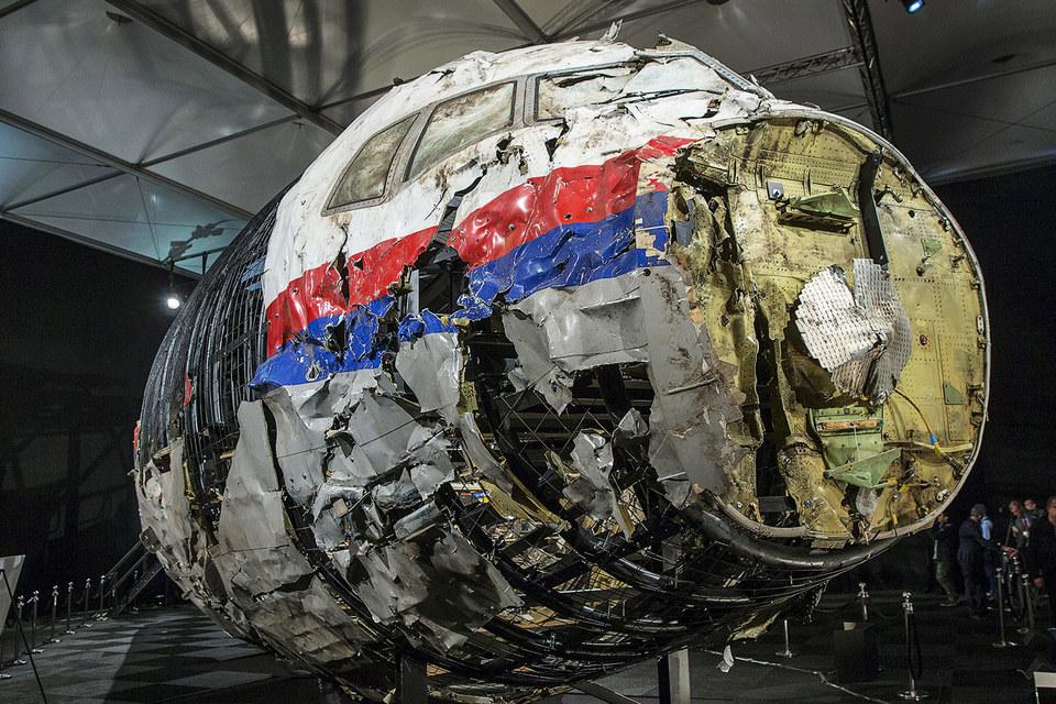 Обломки малазийского Boeing MH17
